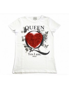 T-SHIRT QUEEN HEARTH