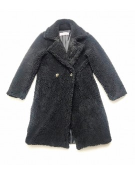 Cappotto teddy long