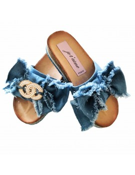 CIABATTA JEWELS DENIM