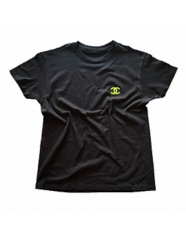 T-SHIRT GRIFF LOGO FLUO