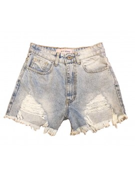 SHORT SOFT DENIM