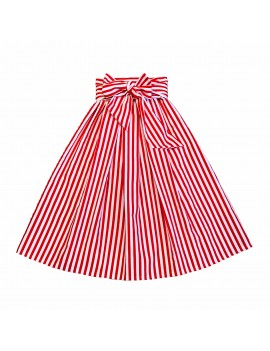 GONNA AMALFI STRIPES ROSSO