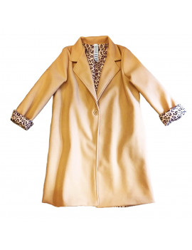 CAPPOTTO PLUMS LEOPARD