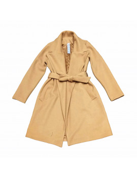 COAT ALAMO WOOL CAMEL