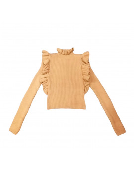PULL CLEAN WOOL CAMEL