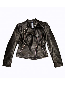 GIUBBOTTO BIKER ECOLEATHER