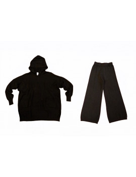TUTA JOGGER WOOL BLACK