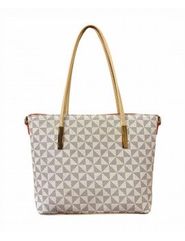 BAG MONOGRAM WHITE  MEDIUM