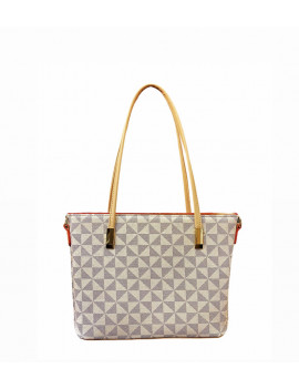 BAG MONOGRAM WHITE  SMALL