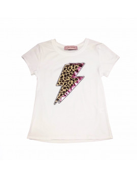 T-SHIRT BOLT WHITE