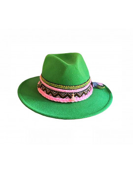 HAT FALDA GREEN